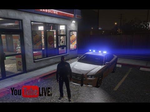 Grand Theft Auto 5  Night Shift Patrol Live Stream