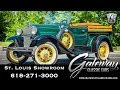 1931 Ford Model A Pickup   Gateway Classic Cars St. Louis   #8122