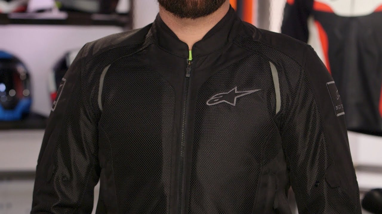 Alpinestars WAKE Air Textile//Mesh Motorcycle Over-Pants Black//Black