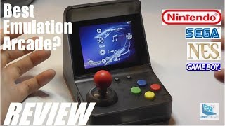 REVIEW: A7 Retro Arcade Emulation Gaming Console!