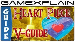 Zelda A Link Between Worlds All Heart Piece Locations Guide Walkthrough Youtube