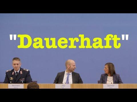 4. April 2018 - Sehenswerte Bundespressekonferenz - RegPK