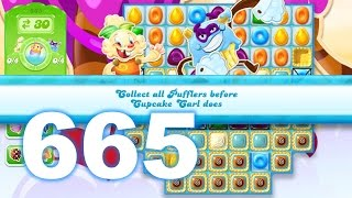 Candy Crush Jelly Saga Level 665 (3 star, No boosters)