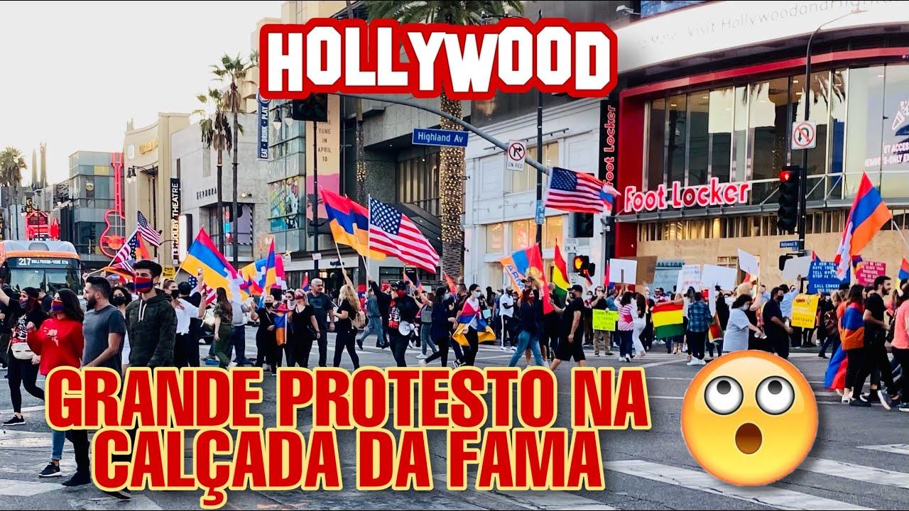 Download Hollywood Boulevard Walking Tour - Los Angeles, California (4k Ultra HD 60fps)