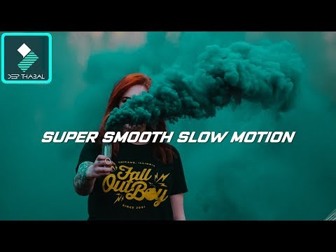 WONDERSHARE FILMORA | HOW TO | SMOOTH SLOW MOTION FAST FORWARD | TUTORIAL [HINDI] DEEP THABAL !