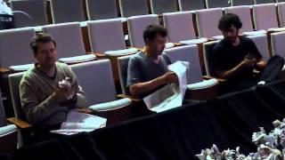 Lecture on nothing, préparation plateau