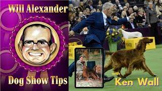 Dog Show Tips   Will Alexander interviews Ken Wall