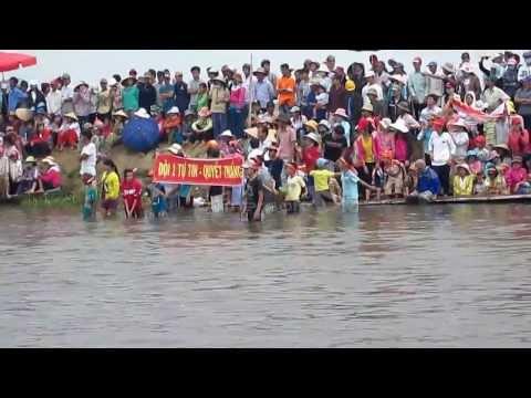 đua ghe làng An Xuân 2014 Full