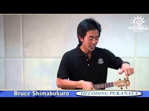 Bruce Shimabukuro introduces PUKANALA ukulele