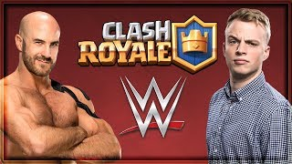 Clash Royale - WWE TAG TEAM CHALLENGE!