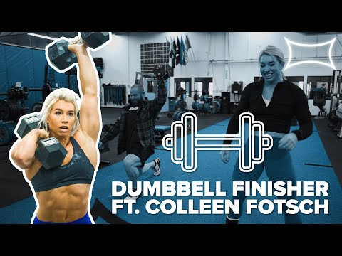 A Dumbbell Only Workout That Will Crush You