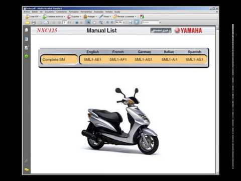 Yamaha 2017 smax scooter service manual.