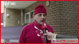 Radio 1 mei - Vliegende reporter (interview)