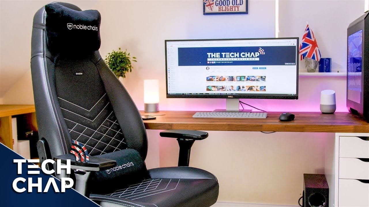 Noblechairs Icon Gaming Chair Review My Back Has Never Felt Better