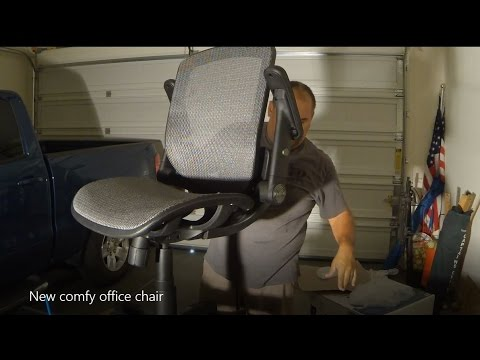building our new comfy bayside office chair - youtube