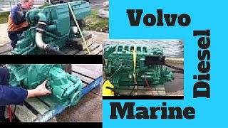 Volvo 165hp Turbo Marine Diesel