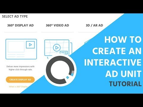 How to Create an Interactive 360 Ad Unit | Tutorial