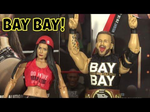 WWE Adam Cole & Nikki Bella Elite 71 Figure Review