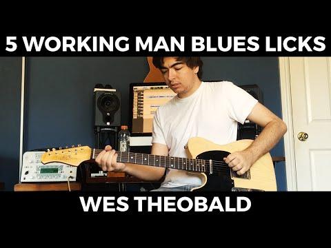 Working Man Blues Guitar Lesson - Merle Haggard Guitar Licks | Wes Theobald