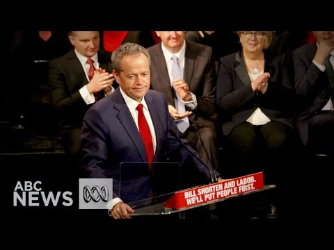Election 2016: Bill Shorten's full campaign launch speech