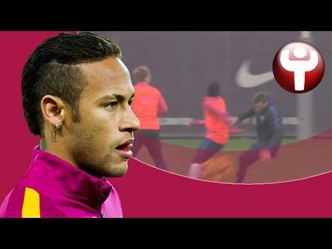 Neymar atropella a Unzué