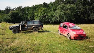 Cu Matiz-ul pe Camp! - Test Drive Off Road - Rasturnat