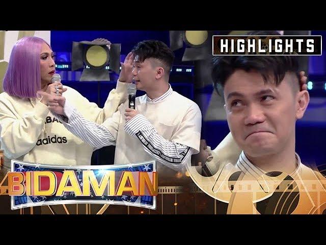 Vice Ganda tries to comfort Vhong Navarro   It's Showtime BidaMan