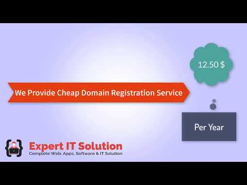 Cheap Domain Registration Service in Bangladesh | Expert IT Solution