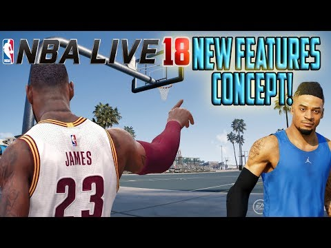 NBA Live 18 - New Features Concept - (Create A Player! | Custom Rosters!) [CONCEPT/IDEA]