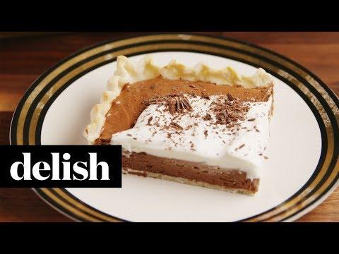 French Silk Slab Pie | Delish