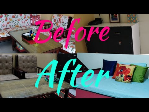 Indian Living Room Tour Small Indian Living Room Makeover In Budget Living Room Decoration Ideas