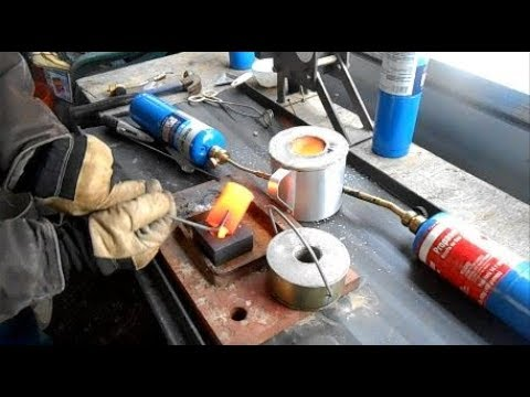 Crushing & Melting Gold Ore & Quartz