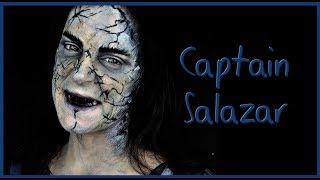 Captain Salazar makeup tutorial from Pirates of the Caribbean 5    Silvia Quiros