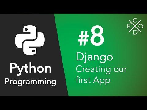 First Django App - Part 8