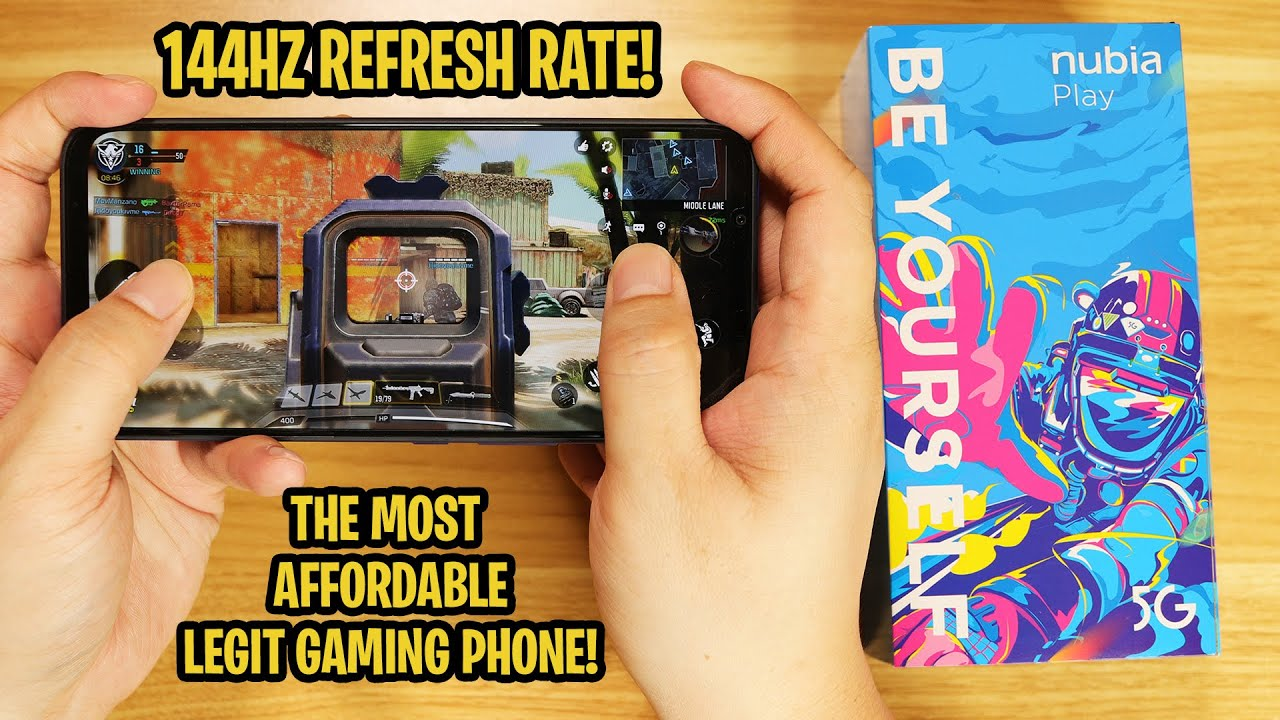Nubia Play 5G - The Most Affordable Legit Gaming Phone!