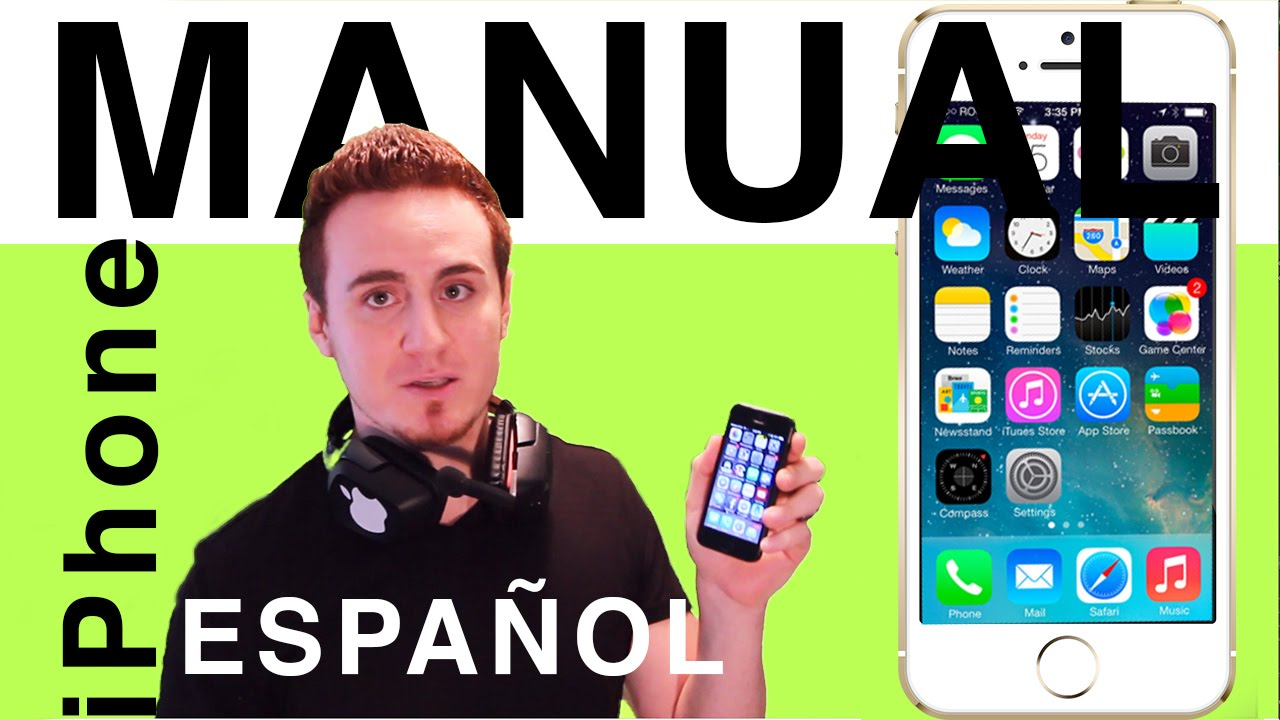 free manual for iphone 5s