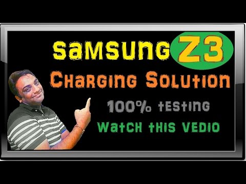 How To Repair Samsung Z3 Charging Fault Solution In Hindi