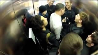 NEW 10 10 2013Смешное видео, приколы в лифте 2013