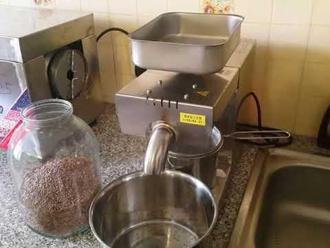 Льняное масло в домашних условиях