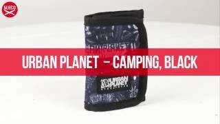 Кошелек Urban Planet - Flip, Camping, Black. Обзор