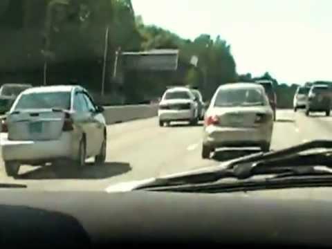 Cop trolls slowpoke in the fast lane