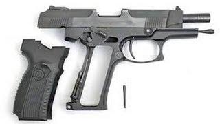 Охолощенное оружие: пистолет ПЯ-СХ