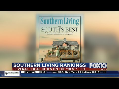 Local communities earn Southern Living South's Best honors