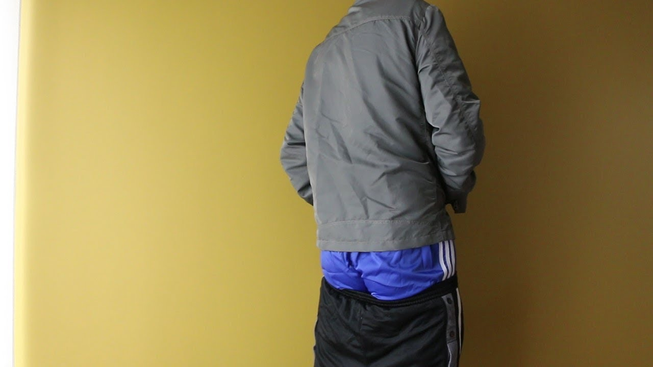 Jacket Blue Alpha And Industries Short Nylon Adidas My Showing Youtube vT5pWqw8B