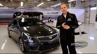 2016 Cadillac ATS-V TECHNICAL REVIEW with Cadillac Chief Engineer Dave Leone