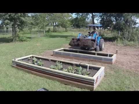 Raised garden bed DIY part 2