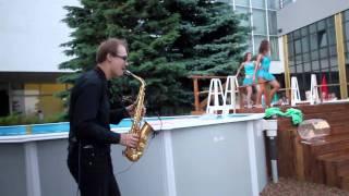 Crazy music & Sex Bomb -  саксофон Syntheticsax