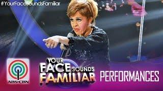 """Your Face Sounds Familiar: Melai Cantiveros as Elizabeth Ramsey - """"Waray Waray"""""""