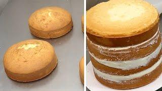 Vanilla Sponge Cake Recipe How To by CakesStepbyStep