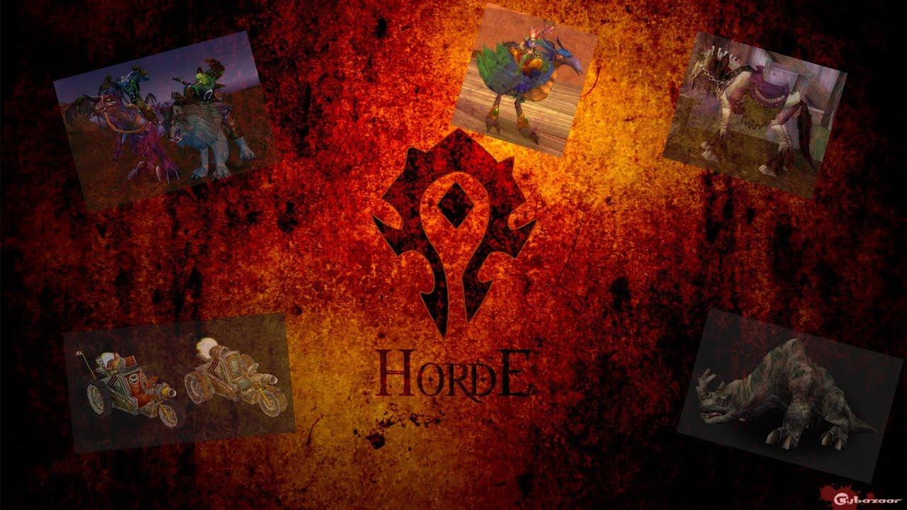 World Of Warcraft Wallpapers Hd Las Monturas Mas Faciles Del Wow Para La Horda Youtube